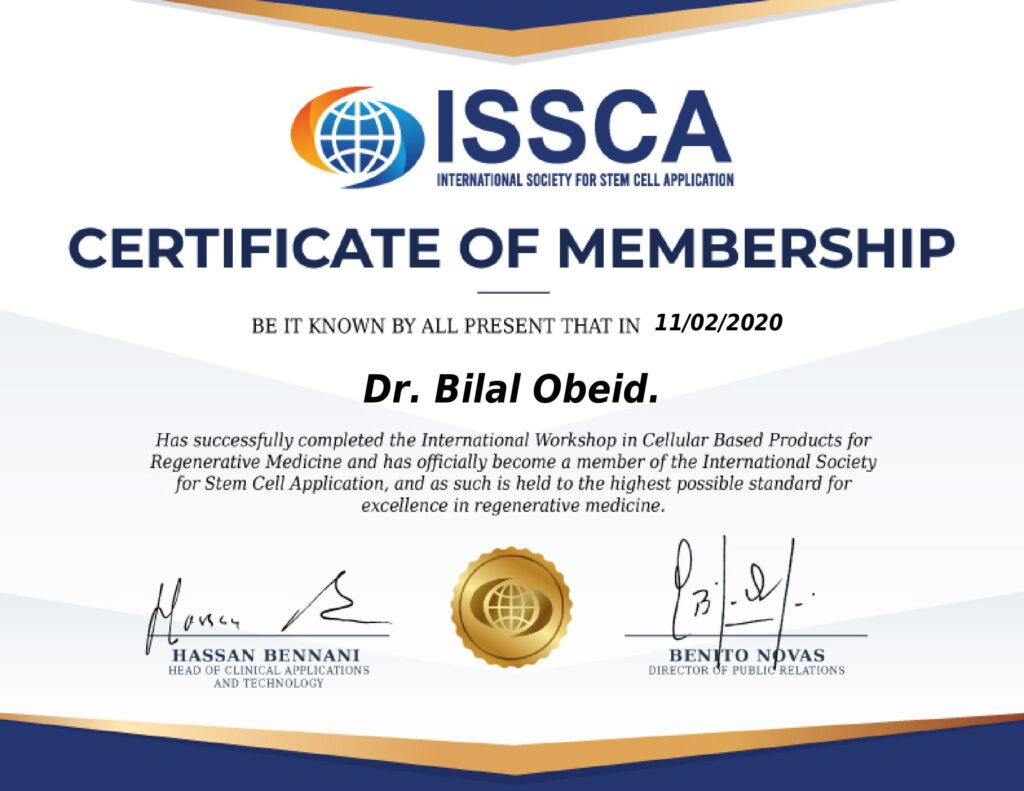 Certificate_Dr. Bilal Obeid.-1